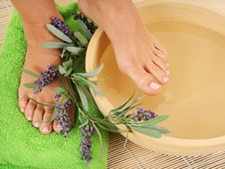 Lavender / Eucalyptus Foot Soak